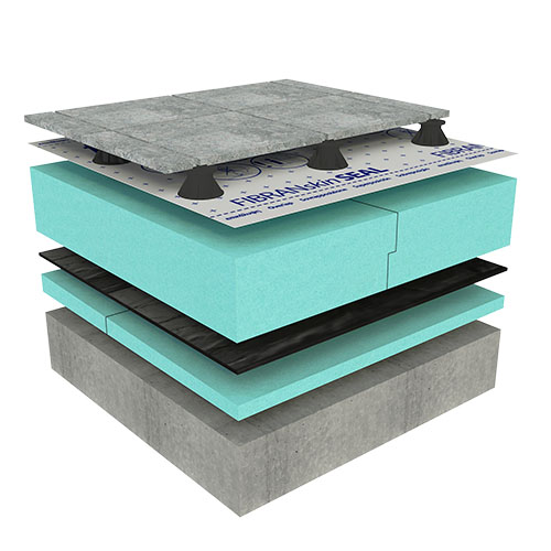 Ravna pohodna streha - OPTIMO